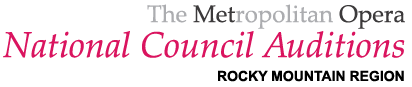 The Metropolitan Opera National Council Auditions